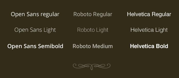 Caratteri tipografici (Font)
